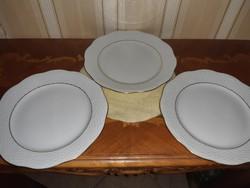Herendi fehér-arany  süteményes tányér 3 db