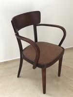 Art deco Kozma Lajos kárpitozott karfás szék