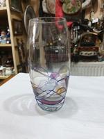 Iparmüvészeti üveg váza