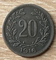 20 Heller 1916