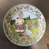 Villeroy & Boch porcelán fali tányér Unicef