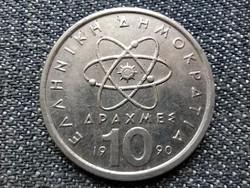 Görögország atom Democritus 10 drachma 1990 (id25116)