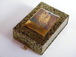 Gustav Klimt bécsi Aida bonbonos díszdoboz