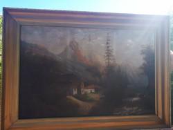 Nagyméretű Osztrák festmény
