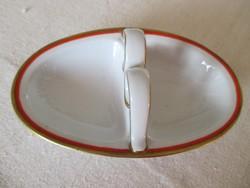 Régi Zsolnay asztali fűszertartó