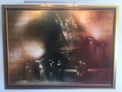 Vinczellér Imre olajfestménye