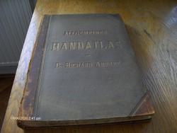 Világatlasz. Andrees: Allgemeiner Handatlas, Lipcse, Velhagen & Klasing, 1887.