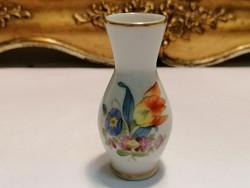 Herendi porcelán kis váza