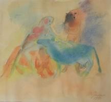 Mira Gendova (1956-): Akt és állatok