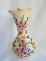 Zsolnay, vagy Fischer porcelán váza