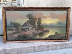 Tájkép festmény