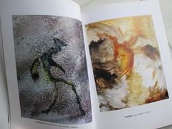 Ghiczy György festőművész 2003-as kiállításának dedikált katalógusa