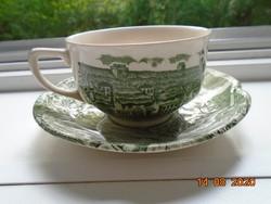 """""""A vidéki régi Anglia"""" mintával  teáscsésze alátéttel"""