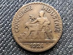 Franciaország Harmadik Köztársaság 50 Centimes 1924 (id29315)