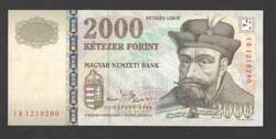 """2000 forint 2004. """"CD"""". TÖKÉLETES UNC!!  RITKA!!"""