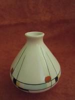 Retro Budapest porcelán váza
