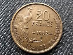 Franciaország Negyedik Köztársaság (1945-1958) 20 frank 1952 B (id29235)
