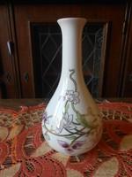 Zsolnay Tavasz váza 21cm,   Új