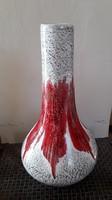 3617 - Retró, iparművész kerámia váza