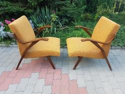 Csehszlovák Retro Tatra Nabytok fotelek a 60-as évekből