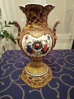 Városlődi majolika váza 40 cm