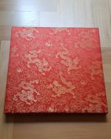 Kínai selyem kép, 30x30 cm