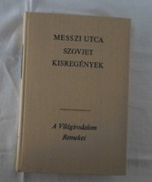 A Világirodalom Remekei – Messzi utca : szovjet kisregények (Európa, 1972)