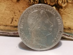 1860 Ferenc József ezüst 1 Florin
