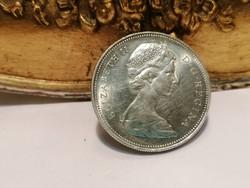 1966 ezüst CANADA DOLLAR ELIZABETH II.
