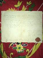 Balatonberény/1837/ elöljárói bizonyságot teszünk arról hogy. szeptember 4-én. Kutor Józs
