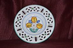 Habán mintás fali tányér ( DBZ 00129 )