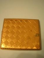 U8 Arany színű régi cigaretta tárca
