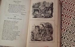 181 éves kőnyomatos dán mesekönyv