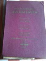 Retro autós atlasz, jó állapotban