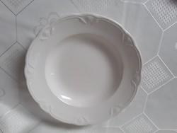 3641 - Retro granite deep plate, beaded