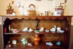 Polcos könyves szekrény
