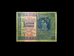 1000 KORONA - 1922 - WIEN