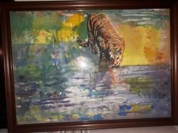 Szinte Gábor festménye
