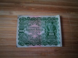 100 koronás