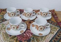Alföldi Icu mintás 5 db kávéscsésze szett ,