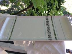 Rosenthal Grunewald tál, zöld, kék, szürke retró mintával