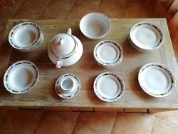 JRJS CLUB 23 darabos porcelán étkészlet