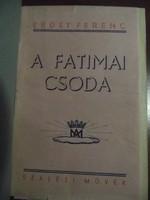 Erdey Ferenc A fatimai csoda Szalézi Művek kiadás