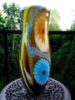 Monumentális muránói üveg váza