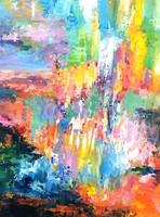 Egyedi, eredeti Modern festmény!Szignózott,Közvetlen a művésztől!