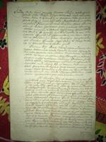 Kis Komárom / Zalakomár  1781. március 19.Úriszék bíráskodási jegyzőkönyv Karos és Galambok helység.