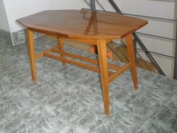Retro fa kisasztal, dohányzóasztal