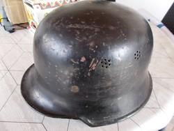 WW2,M-34 Német polizai helm,komplet