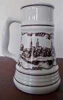 Alföldi porcelán korsó