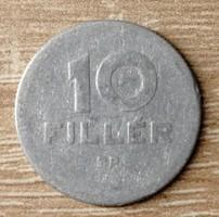 10 fillér 1950 (ritka) BP.